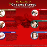 Six Benefits of Cayenne Pepper – Infographic
