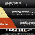 Survival Food Chart