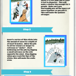 How to Build a Quinzee snow shelter – Infographic