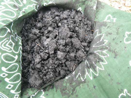 Crushed Charcoal