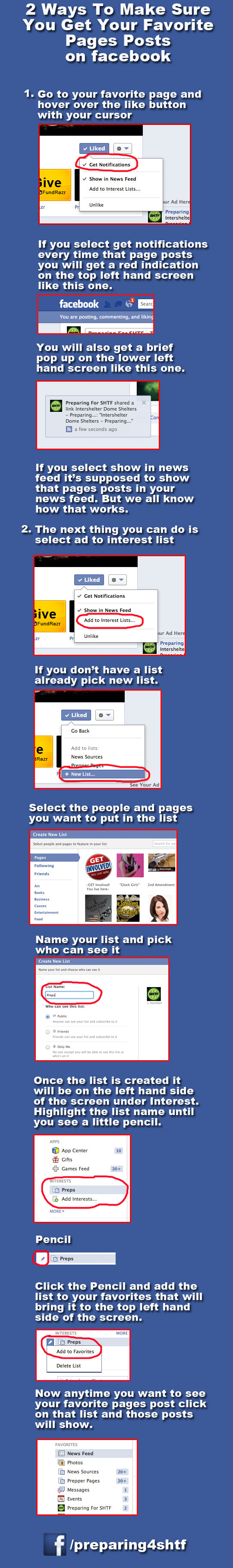 How to Get Our Facebook Posts – Infographic