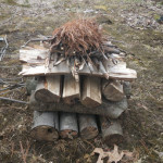How to Build a Self Feeding Fire – Upside Down Fire
