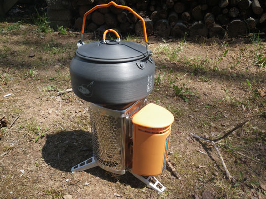 BioLite Camp Stove with GSI Ketalist