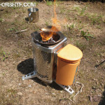 BioLite Camp Stove Boil Test