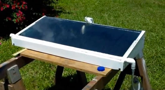 Solar Water Still ~ Homemade solar still preparing for shtf