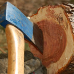 How to Fix and Sharpen a Damaged Axe Head