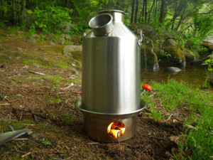 Kelly Kettle Scout Burning
