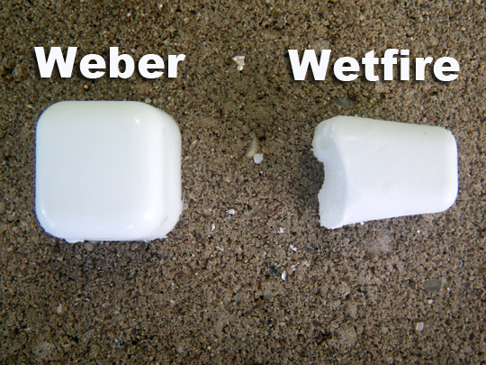 Weber vs Wetfire Size Comparison