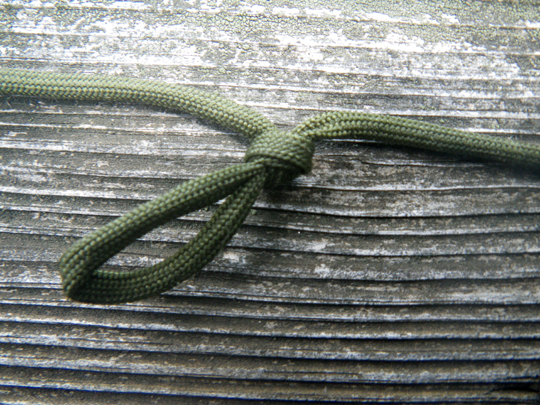 Paracord trotline step 7