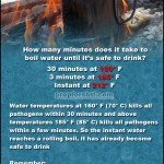 Boiling Times For Safe Drinking Water
