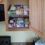 DIY Kitchen Cabinet Organization/Rotation Shelves