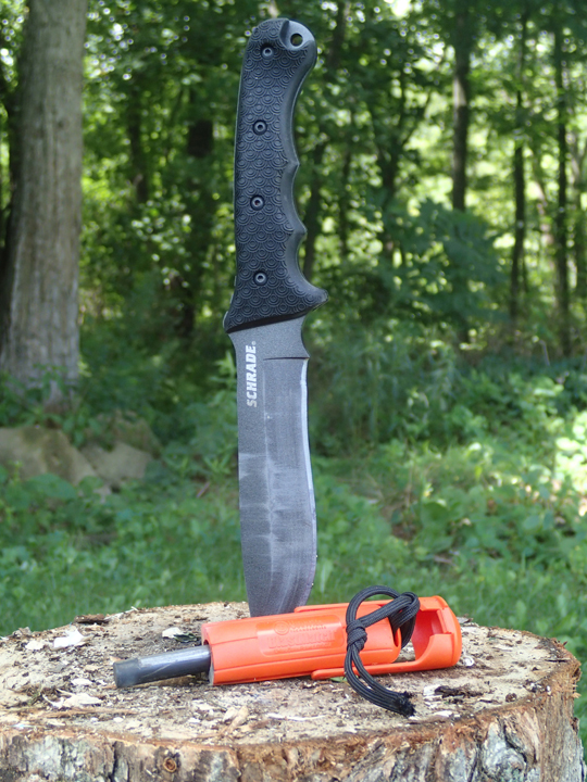 Schrade SCHF9 Survival Knife