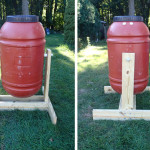 How to Make a Barrel Compost Tumbler