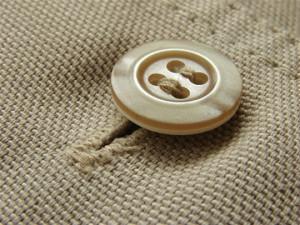 Hand sew button