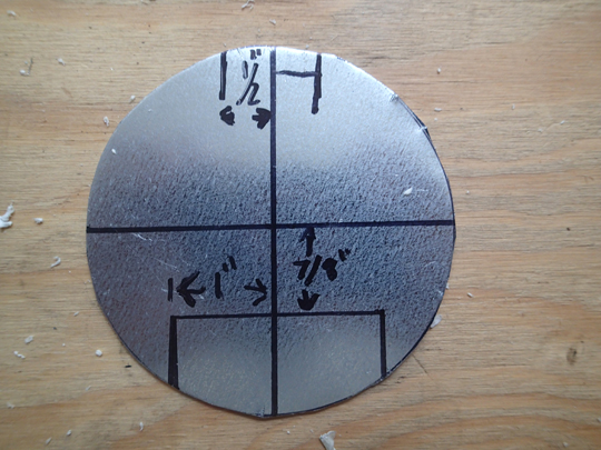 Circle plate measurements