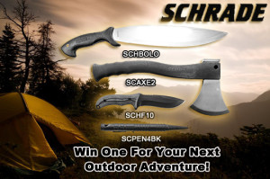 Schrade Knife Giveaway