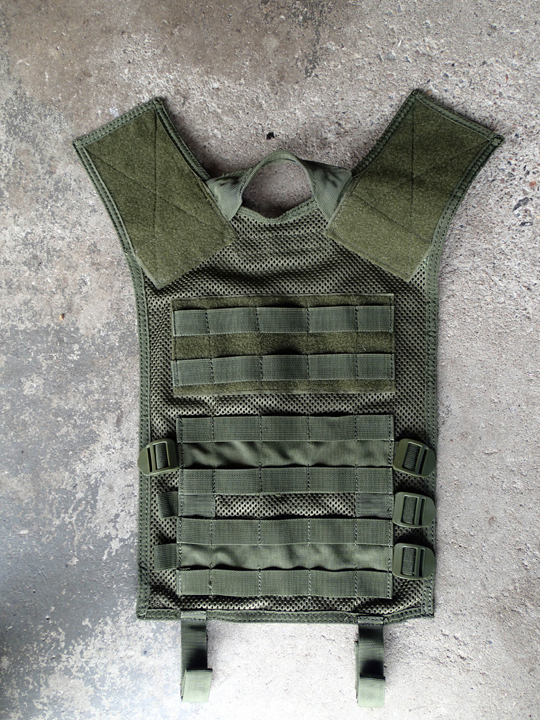 Tactical Vest Back Removed