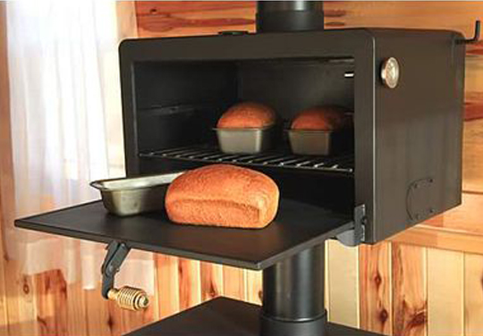 Wood Stove Oven - Baker's Salute Oven - The Baker's Salute Oven - Preparing For Shtf