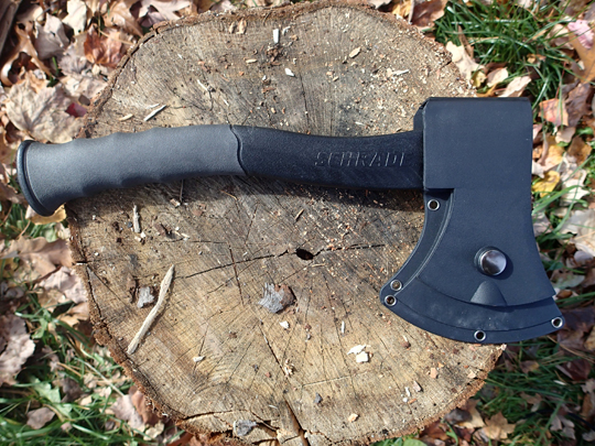Schrade Survival Axe with Sheath