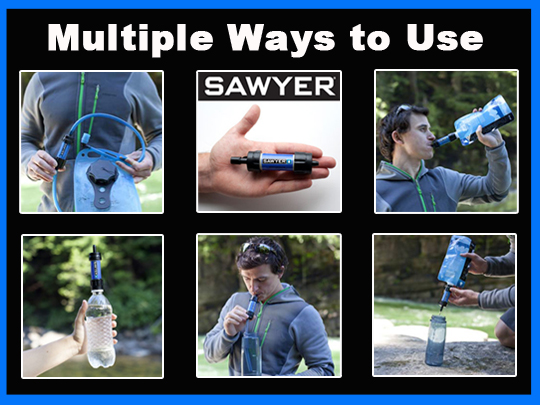 Sawyer Mini Filter Uses