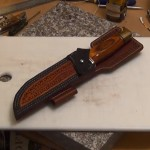 How to Make a Custom Leather Survival Knife Sheath