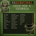 33 Survival Uses For a Shemagh (Graphic)