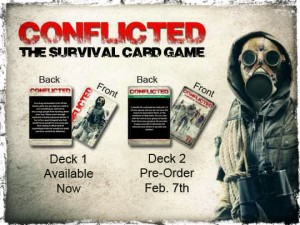 Conflicted The Survival Card Game
