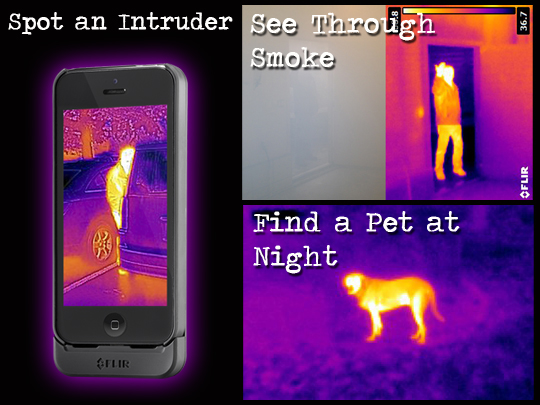 Flir One Thermal Image Camera Case For iPhone5