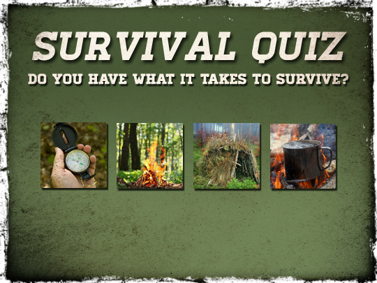 Survival gear quiz questions