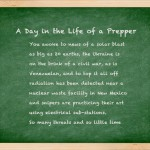 A Day in the Life of a Prepper