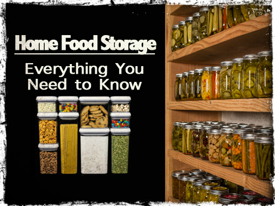 Home Food Storage