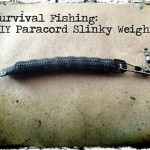 Survival Fishing: DIY Paracord Slinky Weights