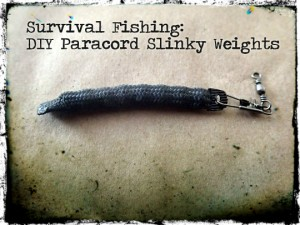 Paracord Slinky Weights
