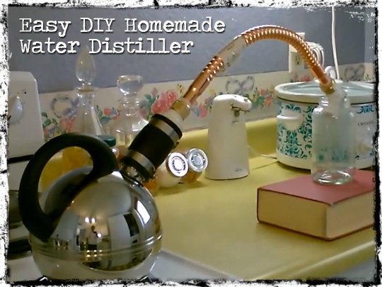 Easy Water Distiller