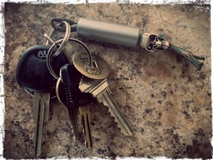 EDC Duct Tap Keychain Fob