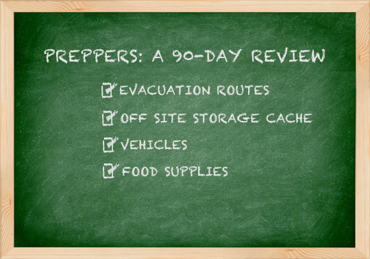 Preppers 90 day review