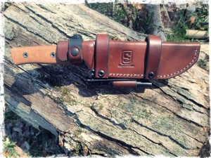 Sagewood Gear Scout Sheath With Firesteel