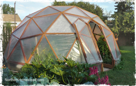 Geo-Dome Greenhouse