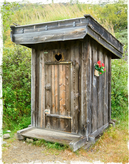 The proper way to construct a latrine for Outhouse pictures
