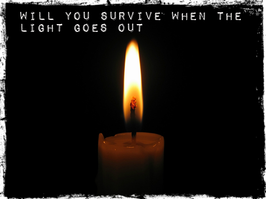 light goes out