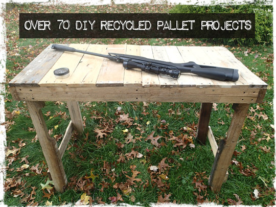 Over 70 DIY Recycled Pallet Projects Preparing For Shtf