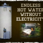 Endless hot water without electricity