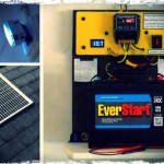 Mini Off Grid Solar Power System With Emergency Lighting
