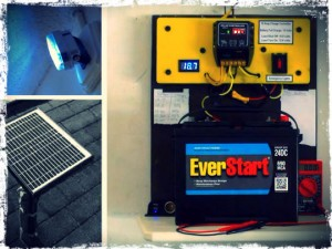 Mini Off Grid Solar System