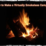 How to Make a Virtually Smokeless Campfire