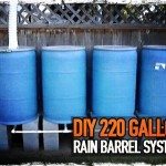 DIY 220 Gallon Rain Barrel System