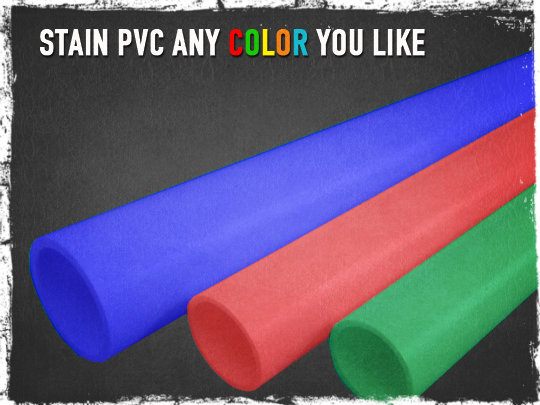 Colored PVC