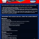 Disinfect Water with Bleach (infographic)