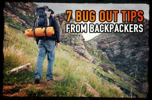 Bug Out tips Backpackers