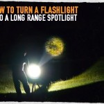 How to Turn a Flashlight into a Long Range Spotlight